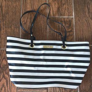 Kenneth Cole Reaction purse handbag stripe tote